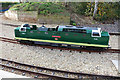 SE5951 : National Railway Museum - miniature Deltic by Chris Allen