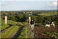 SW7124 : Gate at Trelowarren by Ian Capper