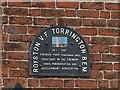 SK4835 : Commemorative plaque by Alan Murray-Rust