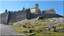S0740 : Medieval buildings at the Rock of Cashel, County Tipperary by Phil Champion