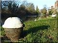 SK4833 : Bollard on the Erewash Canal by Alan Murray-Rust