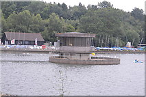 TQ3328 : Outflow tower, Ardingly reservoir by N Chadwick