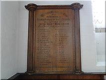 TM1180 : Diss Secondary School First World War Memorial by Adrian S Pye