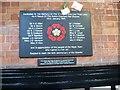 SP1196 : Sutton memorial to tragedy by Martin Richard Phelan