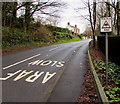 SN1307 : This is a HomeWatch Area sign on the approach to Kilgetty by Jaggery