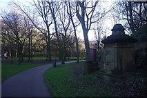 SJ3589 : St. James' Cemetery and Gardens by Richard Webb