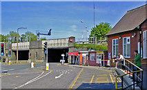 TQ2837 : Entrance to Three Bridges station, 2011 by Ben Brooksbank