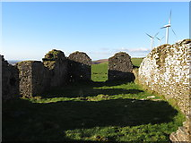SS9985 : Remains of St. Peter's church by Gareth James
