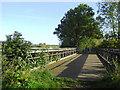 SK1615 : Bridge over the River Trent near Alrewas, Staffordshire by Roger  Kidd