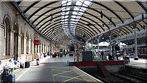NZ2463 : Platform 12 - Newcastle Central Station by Ian Knox