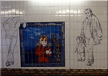 NS7556 : Barrie Street underpass by Thomas Nugent