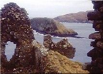 NG4074 : Tulm Island from Duntulm Castle ruins by Alan Reid