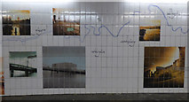 NS7556 : West Hamilton Street underpass by Thomas Nugent