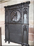 SO8554 : Memorial plaque to the Duke of Hamilton by Philip Halling