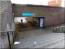 NS7557 : Merry Street underpass by Thomas Nugent
