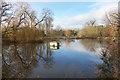 SP8205 : Fish Pond, Great Kimble by Des Blenkinsopp