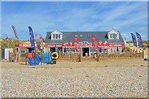 TQ9618 : Camber Sands - Beach shop by N Chadwick
