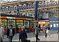 TQ2879 : Victoria Station (Eastern), concourse 1985 by Ben Brooksbank