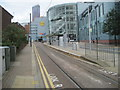 TQ3265 : Centrale tram stop, Croydon by Nigel Thompson