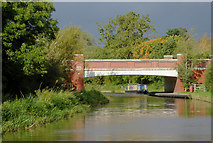 SK0419 : Bridge No 67A north of Rugeley in Staffordshire by Roger  Kidd