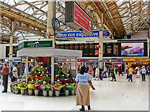 TQ2878 : Victoria (Central) Station concourse, 2006 by Ben Brooksbank