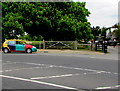 TQ1568 : Multicoloured car, Hampton Court Road, East Molesey by Jaggery