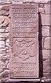 NS3760 : Tombstone, Castle Semple Collegiate Church by Richard Sutcliffe