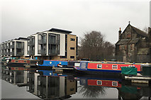 NT2472 : Apartment blocks on the Union Canal, Fountainbridge by John Allan