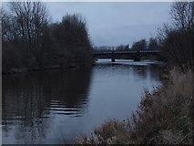 NS6162 : Dalmarnock railway bridge by Alec MacKinnon