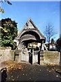 SE4820 : Darrington Church lytchgate by derek dye