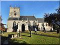 SE4820 : St Luke and All Saints Church Darrington by derek dye