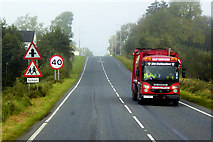 H3122 : Refuse Collector on the A509 near Teemore by David Dixon