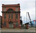 SJ8196 : Trafford Park Telephone Exchange by Gerald England