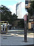 TQ3179 : Strata Tower, Elephand and Castle by Thomas Nugent