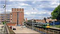 TQ2863 : Wallington station, 2005 by Ben Brooksbank