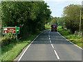 H1453 : A46, Lough Shore Road, near Blaney Caravan Park by David Dixon