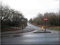 SP0293 : Wigmore Lane junction by Martin Richard Phelan