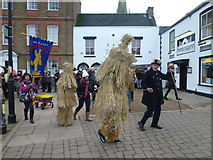 TL2797 : Straw bears on the move - Whittlesea Straw Bear Festival 2018 by Richard Humphrey