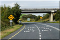 G8862 : Bridge over the N15 at Ballyshannon by David Dixon