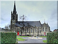 SD7916 : Ramsbottom, St Paul's Church and War Memorial by David Dixon