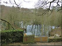 SE1039 : Private lake outside Bingley by Stephen Craven