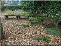 SE1039 : All Saints, Bingley - detached churchyard (2) by Stephen Craven