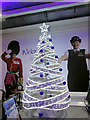 TQ0775 : Christmas tree, Heathrow Airport by Derek Harper