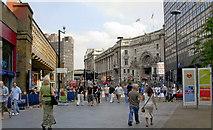 TQ3180 : Mepham Street and Waterloo Station, 2007 by Ben Brooksbank