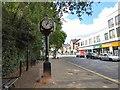 SJ7694 : Urmston Millennium Clock by Gerald England