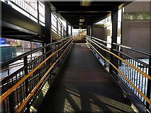 NZ3367 : Walkway access to Percy Main Metro Station by Andrew Curtis