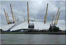 TQ3980 : The O2 close up by Anthony O'Neil