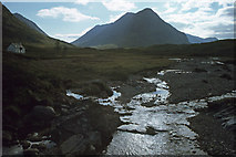 NN2256 : River Coupall & Buachaille Etive Beag by Ian Taylor