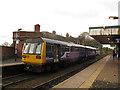 SJ9490 : Romiley railway station - Guide Bridge service by Stephen Craven