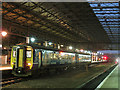 SE1416 : Night train at Huddersfield by Stephen Craven